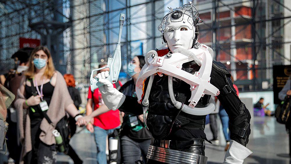 New York Comic Con: Salah satu pesta kostum terbesar di dunia