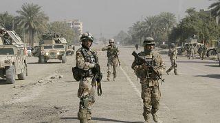 عکس آرشیوی از نیروهای عراقی