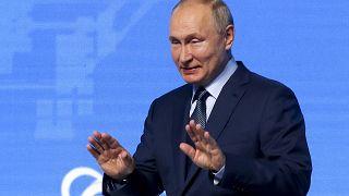 Владимир Путин на Энергетическом форуме в Москве