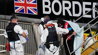 افزایش عبور غیرقانونی مهاجران از کانال مانش