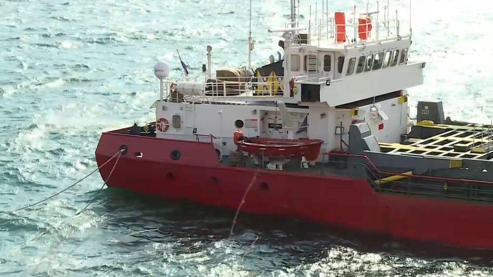 Bulgaria mengecam dampak ekologis 'tidak dapat diubah' dari kapal karam Laut Hitam