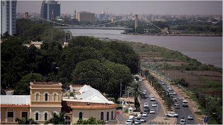 منظر عام للعاصمة السودانية، الخرطوم