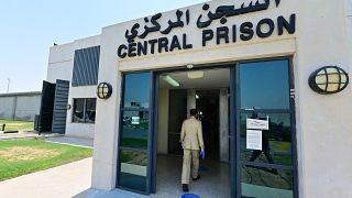 السجن المركز في مدينة دبي بالإمارات العربية المتحدة