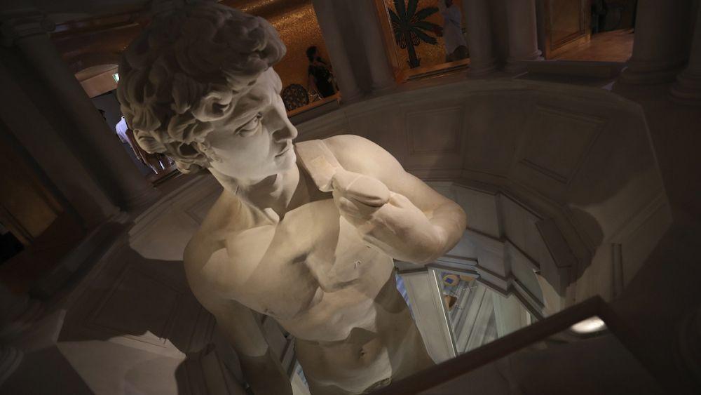 El David de Miguel Ángel es una estatua de limitaciones en la Expo de Dubai