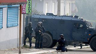 درگیری پلیس با صربتبارها در شمال کوزوو