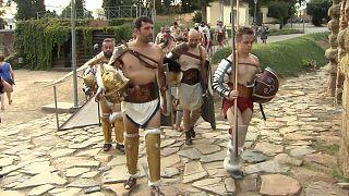 Un festival romain à Mérida pour imaginer la ville du temps de l'antiquité