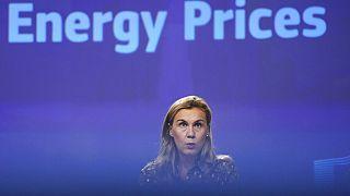EU-Energiekommissarin Kadri Simson in Brüssel