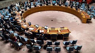 إجتماع مجلس الأمن الدولي.