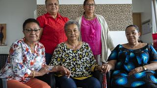 The five biracial women born in Congo when the country was under Belgian rule suing the Belgian state for crimes against humanity.
