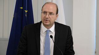 Ο Υπουργός Άμυνας της Κύπρου Χαράλαμπος Πετρίδης