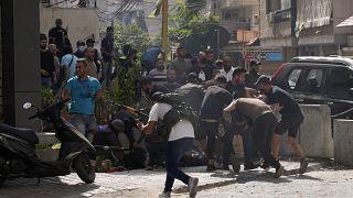 تظاهرات شیعیان علیه قاضی تحقیق پرونده انفجار بندر بیروت