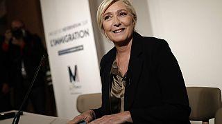 Ulusal Birlik Partisi lideri Marine Le Pen