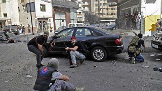 Перестрелка в Бейруте 14.10.2021