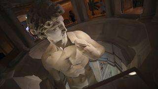 3D-Reproduktion des David in Dubai