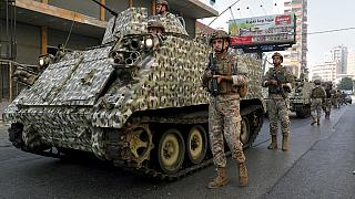 L'armée déployée à Beyrouth, 14 octobre 2021