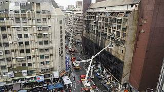 Search and rescue operations continued into Thursday afternoon in Taiwan.