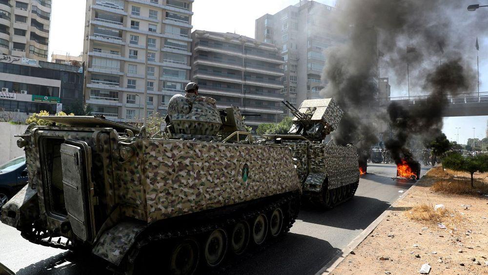 Enfrentamientos mortales en Beirut después de las protestas contra el juez de explosión del puerto