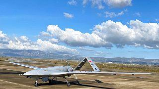 TB2 silahlı insansız hava aracı (SİHA)