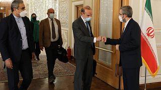 دیدار انریکه مورا و علی باقری
