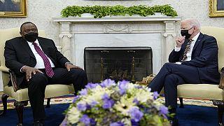 Kenya : rencontre Uhuru Kenyatta-Joe Biden à la Maison Blanche