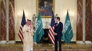 """السعودية نيوز        بلينكن وبن فرحان يناقشان الملف النووي الإيراني والرياض """"جادة"""" في محادثاتها مع طهران"""
