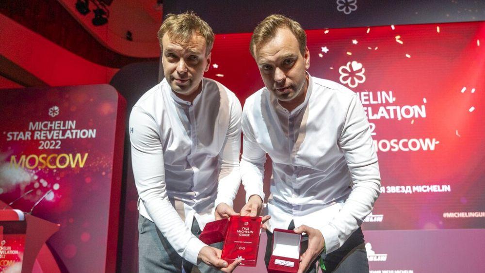 Michelin otorga estrellas a los chefs rusos por primera vez