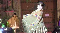 Cholitas fashion show celebrates Bolivia's capital