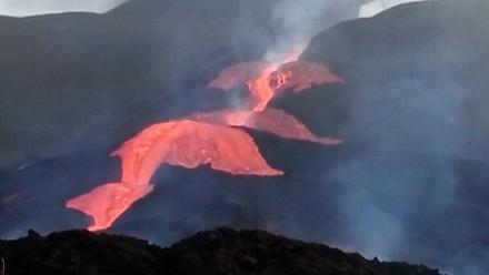 Volcano eruption continues on La Palma island
