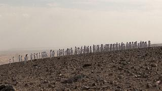 Models pose nude for Spencer Tunick shoot in Israel