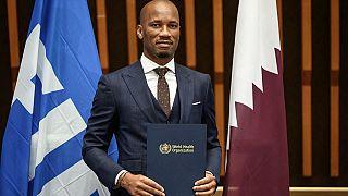 Didier Drogba nommé ambassadeur de bonne volonté de l'OMS
