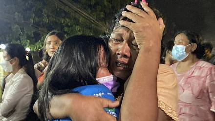 Group of anti-coup prisoners released in Myanmar