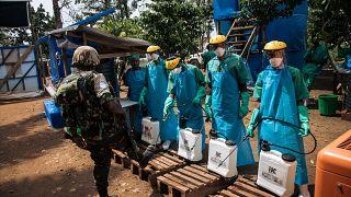 RDC : lancement de la campagne de vaccination contre Ebola