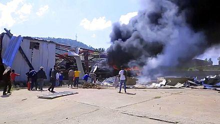 New air strike on Tigray capital Mekele