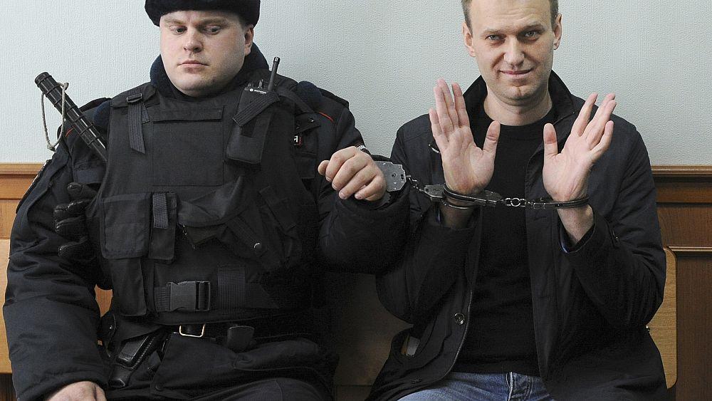 El líder opositor ruso encarcelado Alexéi Navalni gana el premio Sájarov 2021 de la UE
