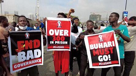 Nigeria : la jeunesse manifeste un an après la répression sanglante de Lekki