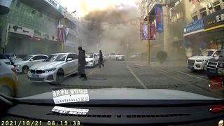 NoComment : au moins 4 morts après une explosion de gaz en Chine