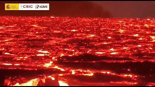 """A """"sopa escaldante"""" do vulcão Cumbre Vieja"""