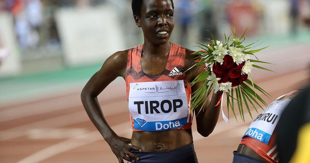 Slain Kenyan athlete Agnes Tirop laid to rest in Iten