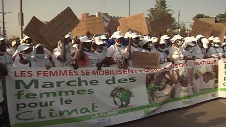 Manifestation à Dakar pour sensibiliser sur le changement climatique