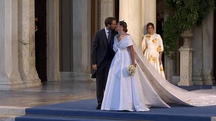 Philippos of Greece weds Nina Flohr in Athens