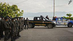 Despliegan a las fuerzas armadas en un poblado indígena en Guatemala