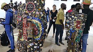 Second biennial sculpture fair opens in Ouagadougou
