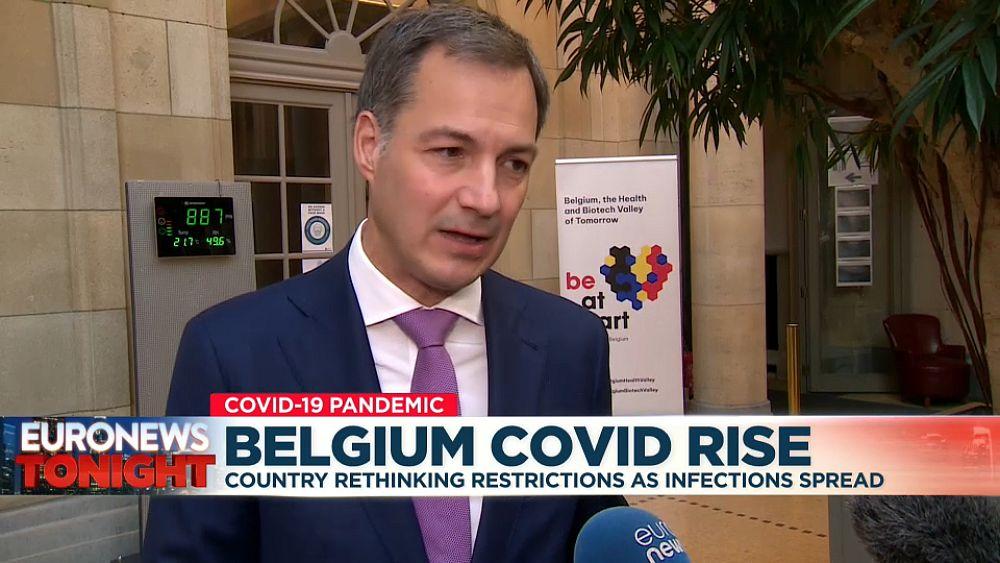 Belgia memperpanjang pemakaian masker saat kasus COVID meningkat tetapi mengesampingkan booster untuk sebagian besar