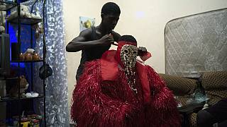 Gambie : la cérémonie du Kankurang initie les garçons à l'âge adulte