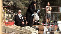 Palestinians kicked off site as Israel demolishes cemetary