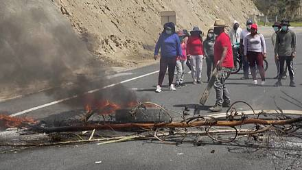 Ecuador: Road blockade on second day of strikes