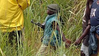 DRC's former child soldiers face tough return to civilian life