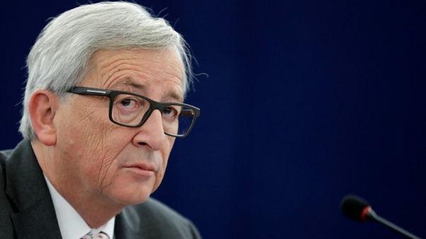 Juncker says Britain may divide EU over Brexit talks