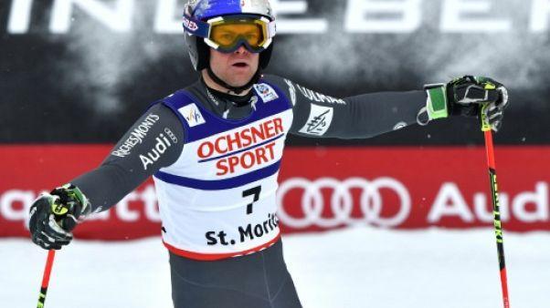 Ski: Pinturault échoue encore face au géant Hirscher à St-Moritz