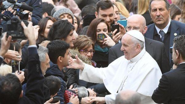 Papa: nessuna religione è terrorista